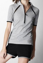 Top Quality 2013 fashion women polo t shirt wholesale polo shirts short sleeves