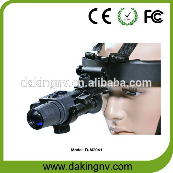 Gen 3 military hunting helmet mounted night vision monocular optical