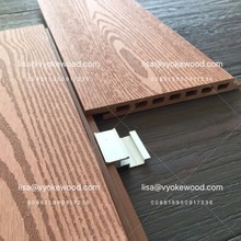 Light Exterior WPC Wall board wood plastic compsotie wall cladding/panel Wall cover