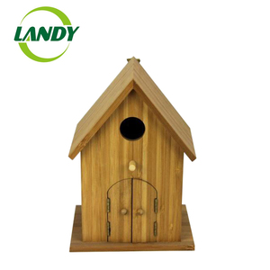 Custom Logo and Color FSC Certified Price Wooden Bird Cage