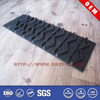 Custom mitigated vibration natural rubber car mats