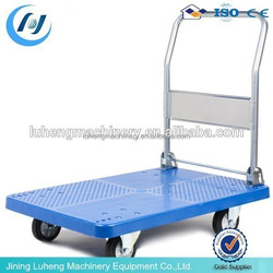 300kgs Hot Sale Steel and PVC Industrial Foldable Platform Trolley