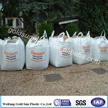 100% raw material 1000kg bulk bag 1 ton rice bag/pp jumbo bag china factory