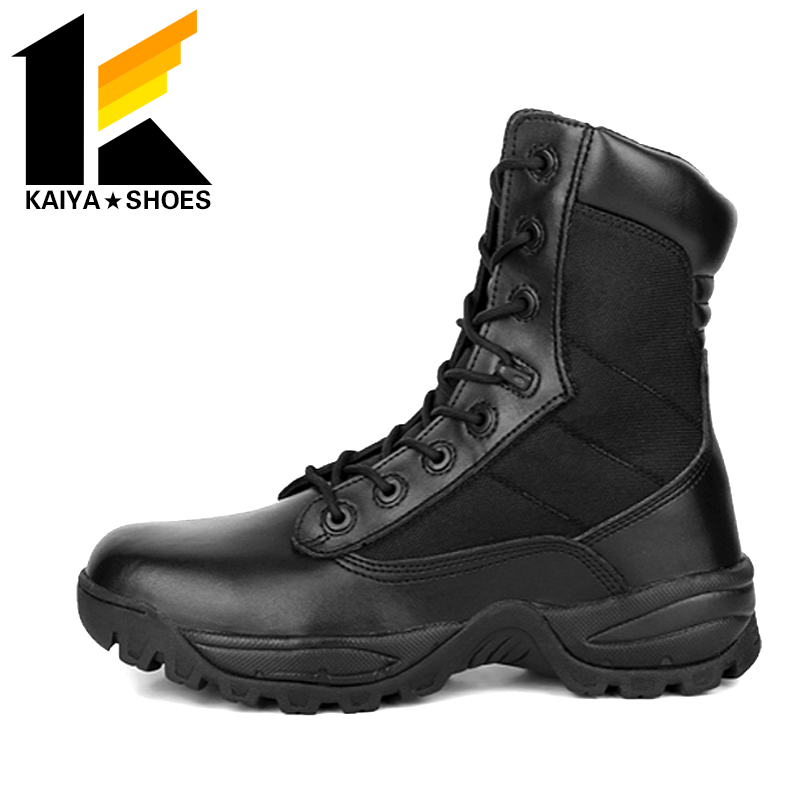 imitation of the <strong>U</strong>.S. Delta High military tactical boots side zipper