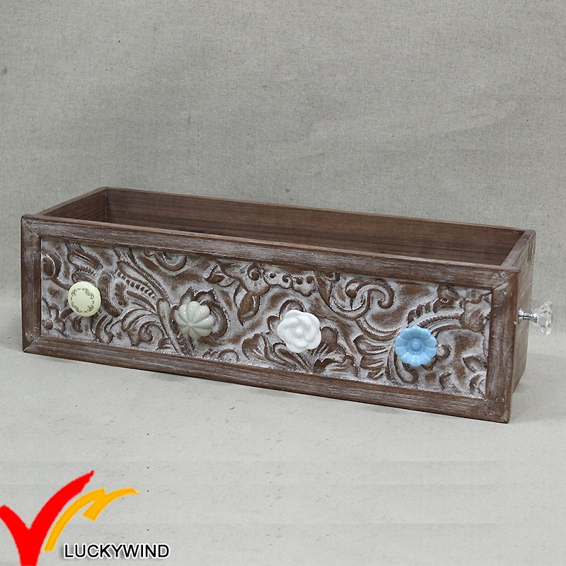 China Luckywind Handmade Wholesale Rustic Antique Vintage Home Decor