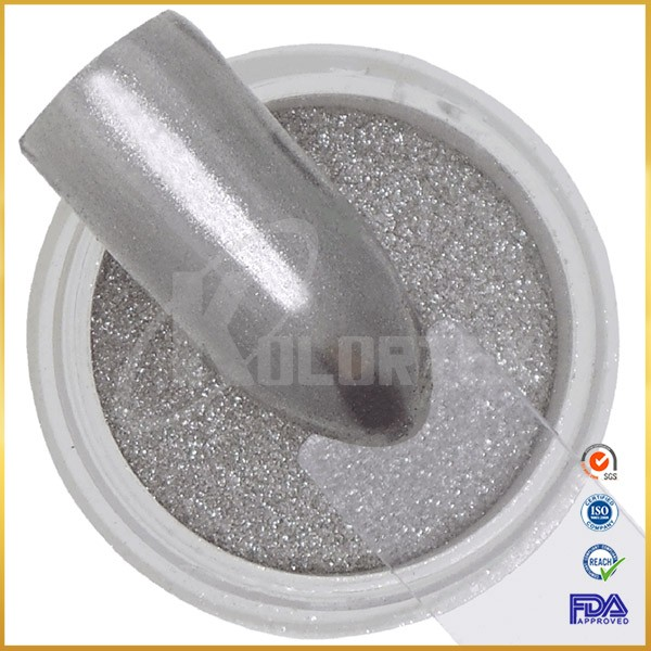 Kolortek hot sale mirror nail powder chrome effect pigment factory