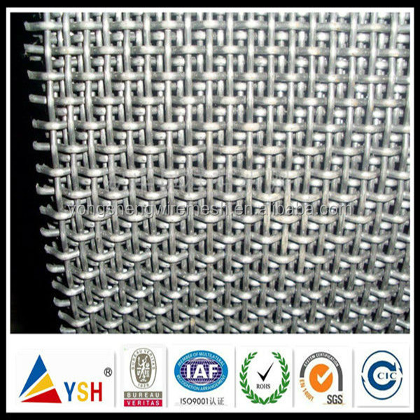Galvanized Crimped Expanded Metal Mesh For Curtain Wall (24 Years Factory)