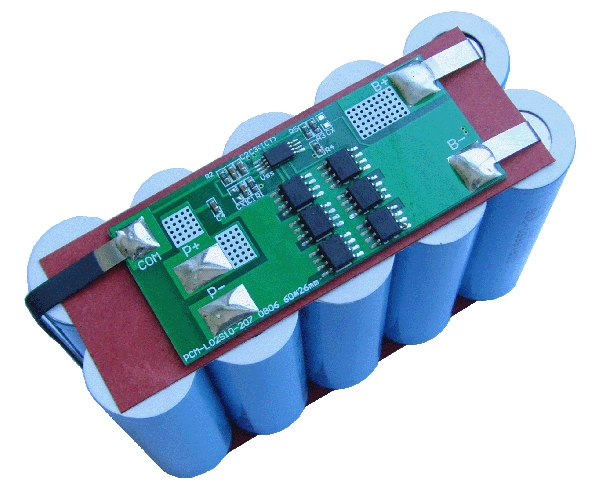 10A BMS/PCM 2S 18650 battery pack battery management system