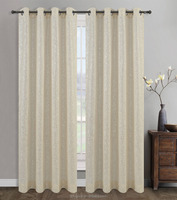clearance unique patterned sheer solid curtain