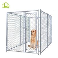 2015 New Style Big Dipped Galvanized chain link Dog Kennel