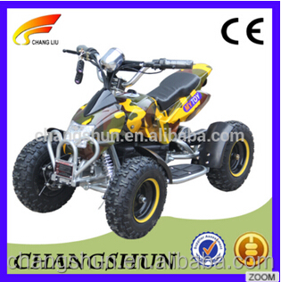 800W / 1000W yellow mini electric atv with 4 wheelers for kids