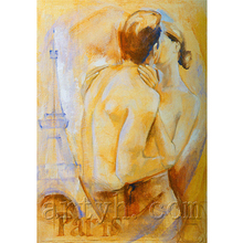 Newest Handmade Man and Woman Sexy Body Nude Oil Painting For Decor