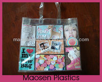 2013 pvc shopping bags can add photos for sale