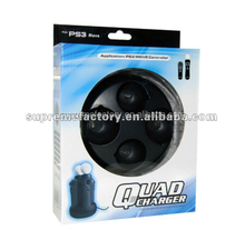 New Quad Charger Charging Stand Cradle For Playstation PS MOVE Controllers