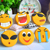 PVC emoji fridge magnet emoji package magnet fridge smile facial expression rubber refrigerator magnets