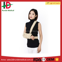 Medical colored immobilizing orthopedic arm sling