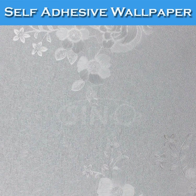 6305 sino silver waterproof 3d wallpaper decoration for