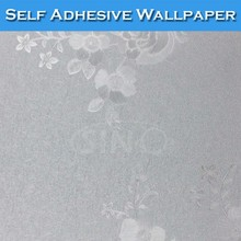 6305 SINO Silver Waterproof 3D Wallpaper Decoration For Bathrooms