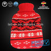 2000ml good quality snowflack knitted hot water bag cover
