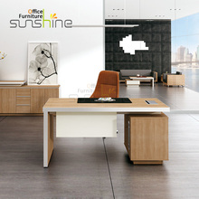 Modern office table single table melamine table new design office staff furniture