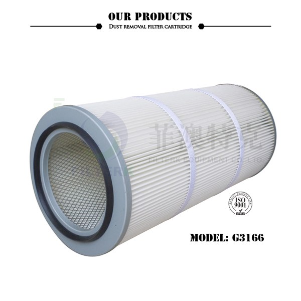 FILTERK G3166 5 Micron Dust Collector Cylindrical Thread Filter