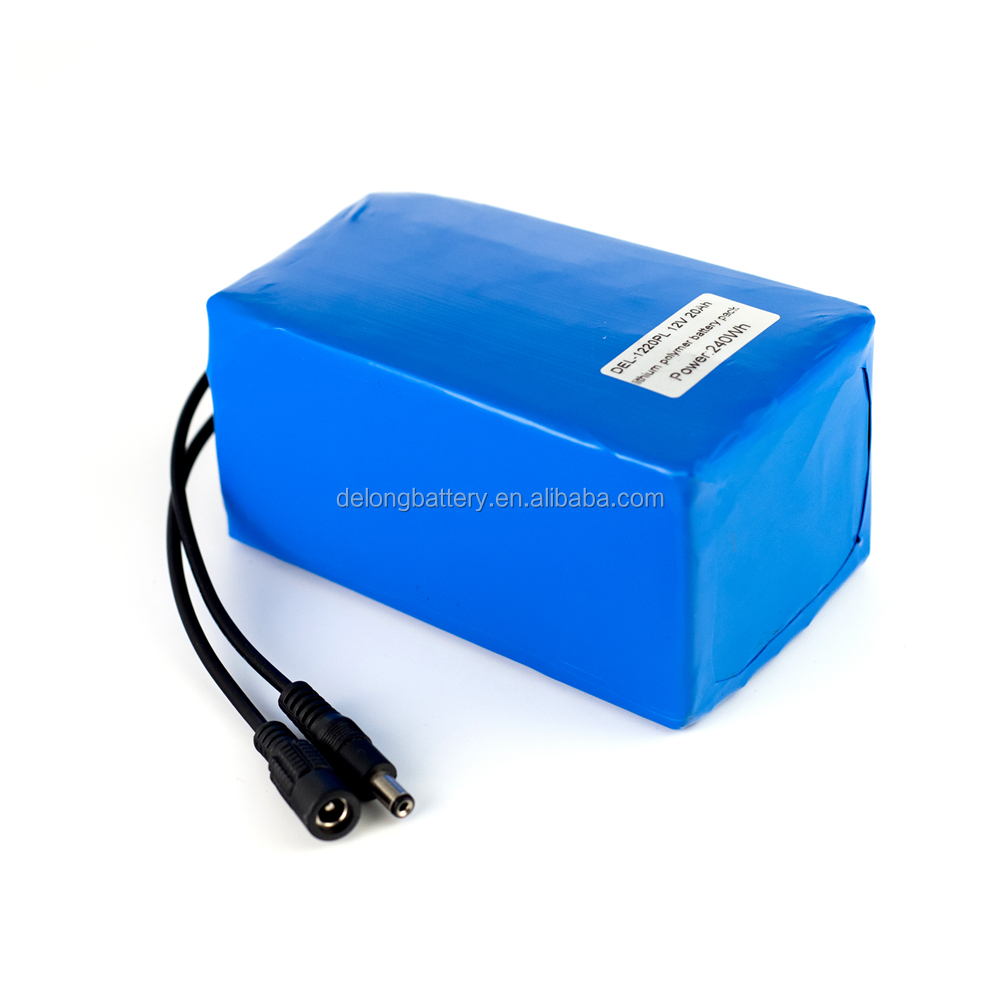 12v 20ah lithium ion batteries for electric scooter