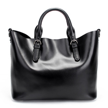 Italian Alibaba Most Popular Stylish Fashion Waterproof Popular Women Genuine Leather Handbag Ladies Custom Leather Tote Bag