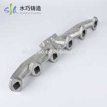 Good price custom standard casting 6 auto exhaust pipe for universal car