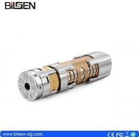new huge mod wholesale 18650 mechanical mod copper mod 1:1 mod Dreadnaut clone