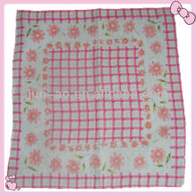 baby printed 100% cotton handkerchief