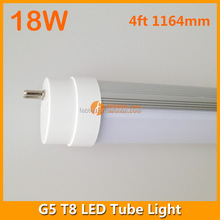 LED lighting 85-265VAC 18w wholesale retrofit 4 feet G5 led tube for T5 replacement