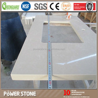 Prefabricated Quartz Stone Precut Kitchen Countertop