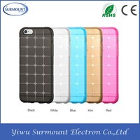 Magic cube Slim Soft clear Rubber TPU cell phone case for IPhone 6 plus