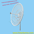 2400MHz 27dBi Outdoor Directional Point To Point Grid Parabolic Antenna TDJ-2400SPD12-27