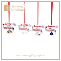 Support Our Troops Army Cap Ornament