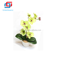 Wholesale Artificial Flower Orchid In Vase With Fresh Touch For Sale