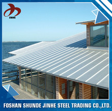 China supplier foshan color corrugated steel price aluminium galvalume roofing sheet in kerala