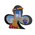 Custom Travel 3D Souvenir Magnet