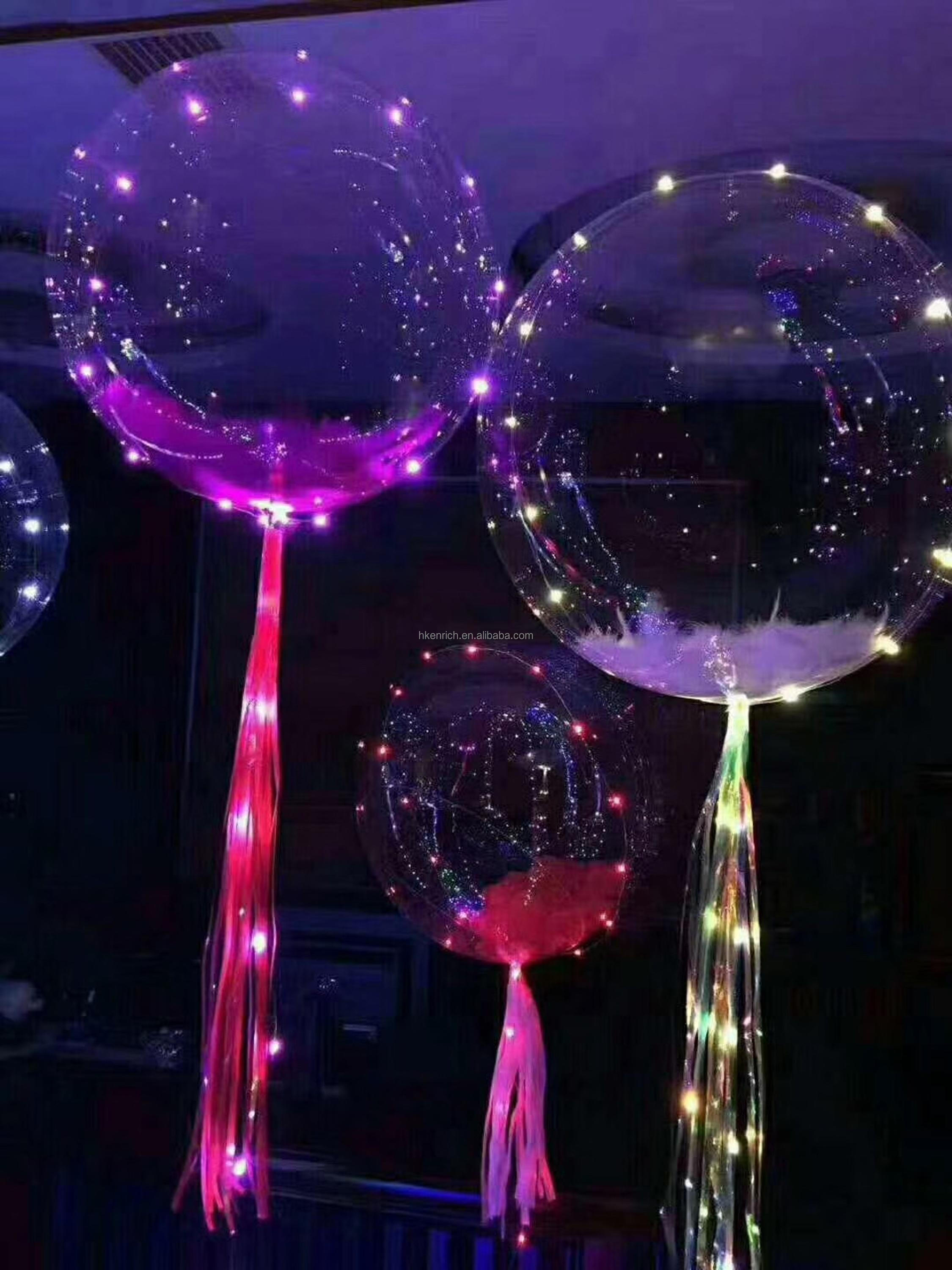 High quality Wedding, Birthday,Party Decoration Transparent Bobo Balloon With Helium