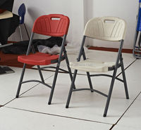 comfortable HDPE folding chair ZD66