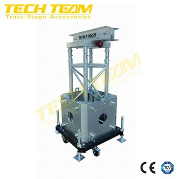 MPT- G12 tower lighting truss lifting/height truss lifting tower/lighting tower truss