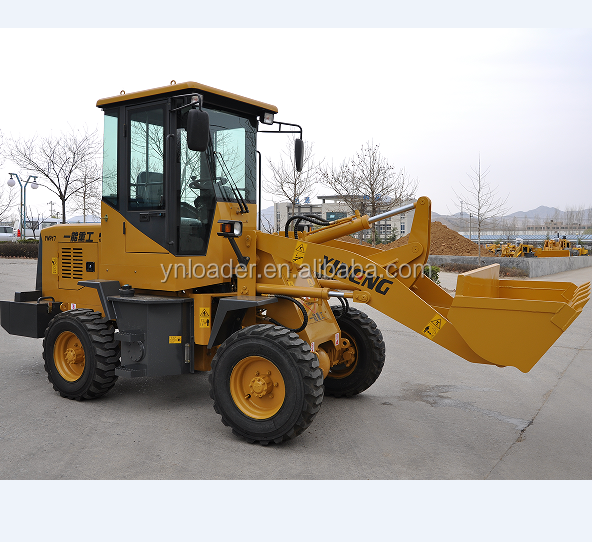 China made 4 ton small wheel loader for sale