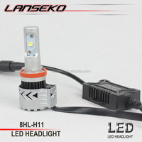 Strong waterproof H11 led headlight G8 high lumen led motorcycle headlight