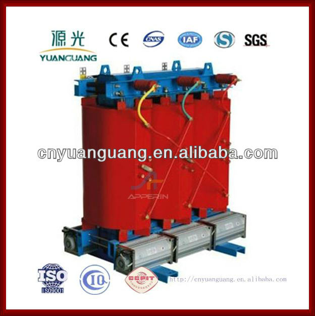 11kv 33kv Cast resin amorphous alloy dry type power transformers
