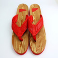 Mutispandex upper with wooden eva slipper,TPR outsole sandal