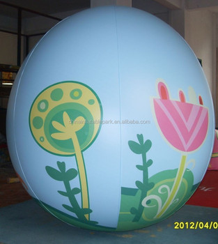 inflatable advertising egg balloon helium flying promotion