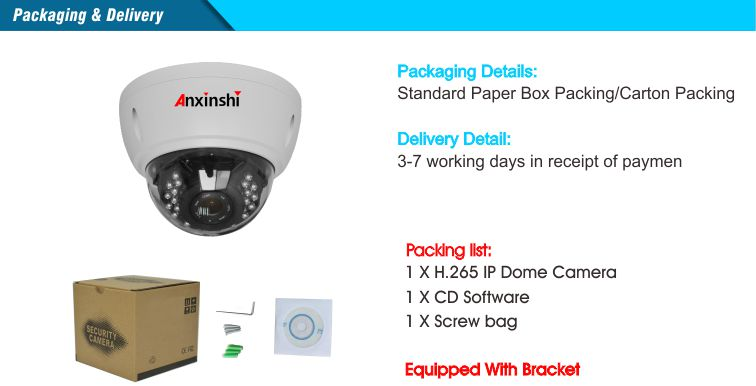 4K vandalproof IP color camera SonyIMX226+HI3519A IP camera 1/1.8varifoal 3.6-11mm 4K lens wide angle IK10 Dome IP Camera IP66