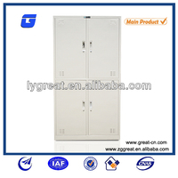 Alibaba china gray knock down clothes steel almirah