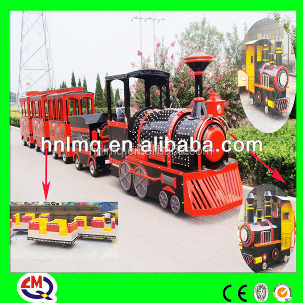 electric trackless train for sale for shopping mall