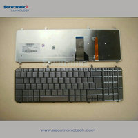 for Hp Laptop Backlit Keyboard HDX16-1000 X16-1100 X16-1200 X16-1300 Spanish silver